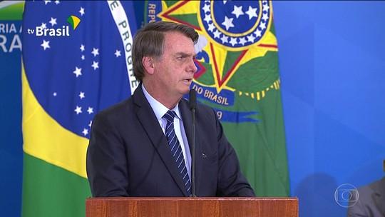 Em cerimônia com Bolsonaro e Moro, governo lança projeto-piloto para enfrentar crimes violentos