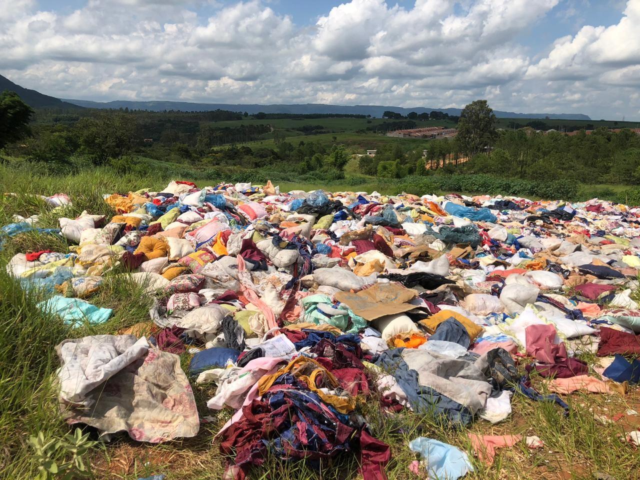 Com auxílio de câmera, Prefeitura de São Pedro multa suspeito de realizar descarte irregular de lixo