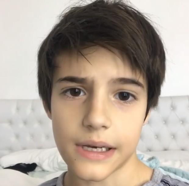 Záion, caçula de Fábio Jr. (Foto: Reprodução/Instagram)