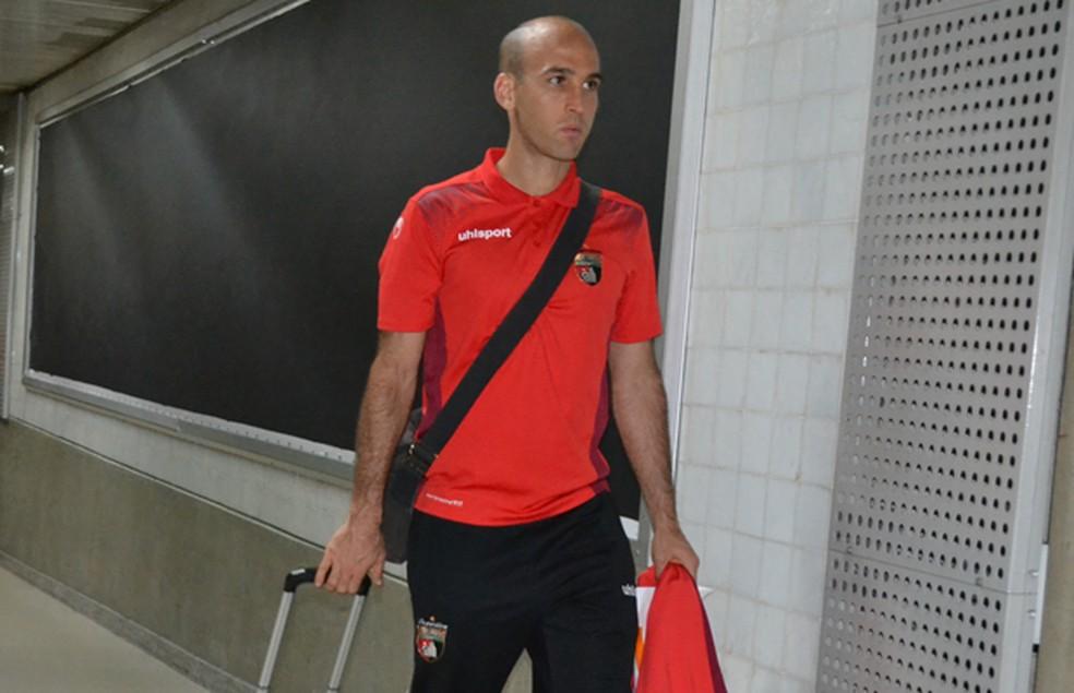 Ricardo Andreutti, do Deportivo Lara (Foto: Divulgação/Deportivo Lara)