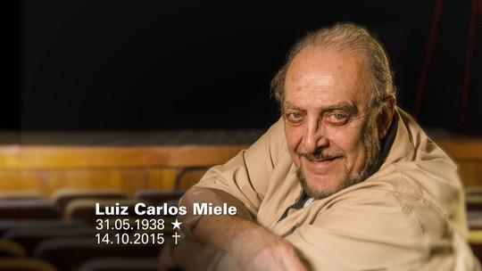 Fantástico lembra as participações de Luiz Carlos Miele no programa