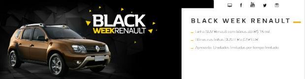 Renault Black Friday 2018 (Foto: Divulgação)