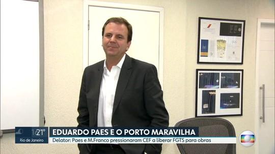 Delator relata pressão de Moreira Franco e Eduardo Paes para fundo do FGTS financiar obras do Porto Maravilha