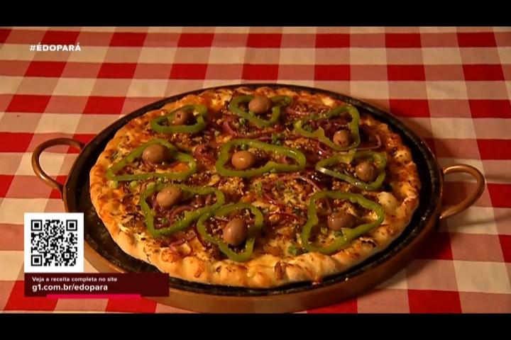 'É do Pará' apresenta a receita da pizza tapajônica do chef Fábio