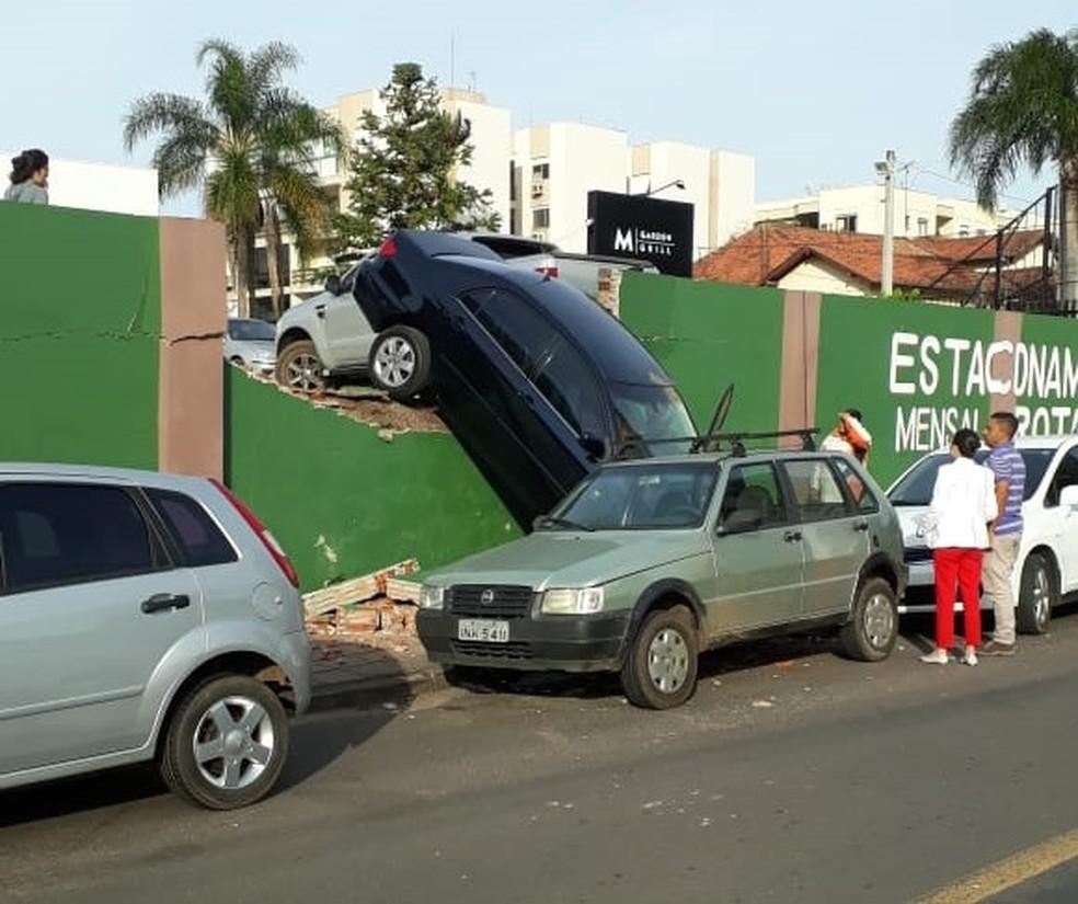Acidente aconteceu na manhã desta terça-feira (25). — Foto: Arquivo pessoal