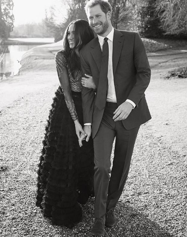 Meghan Markle e o príncipe Harry (Foto: Reprodução / Instagram)
