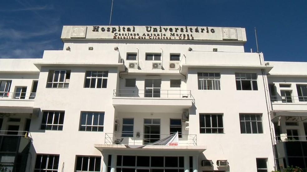 Hospital das Clínicas (Hucam), em Vitória — Foto: Reprodução/TV Gazeta