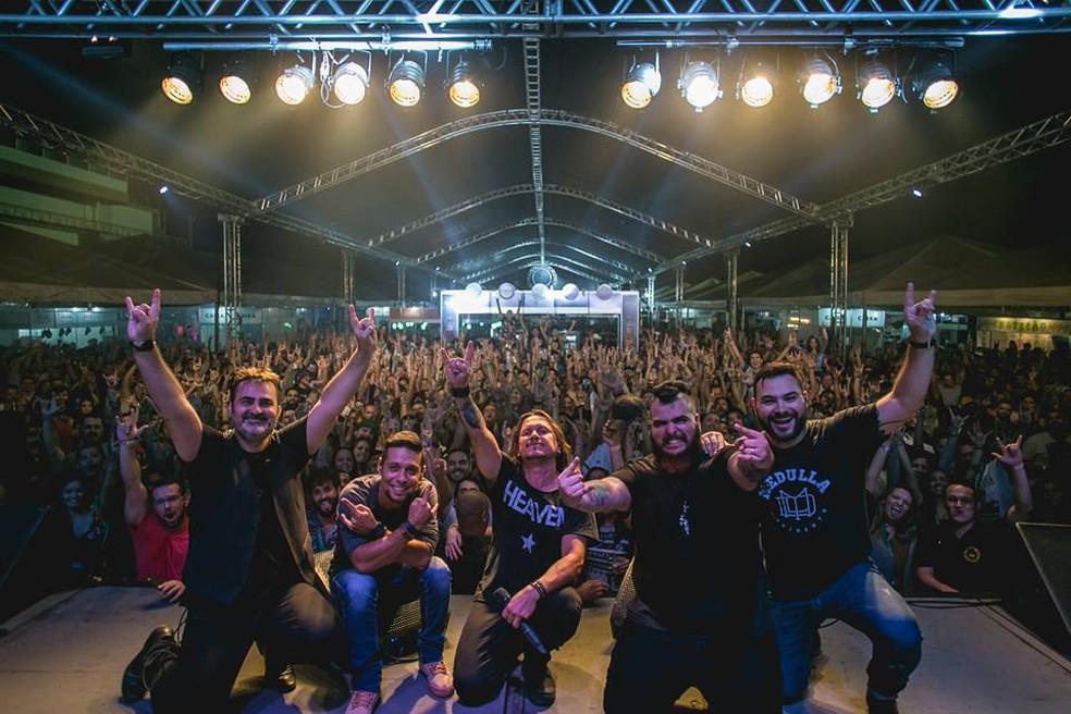 Banda Venosa traz o melhor do pop rock nacional e internacional — Foto: Ana Carolina Moraes/Divulgação