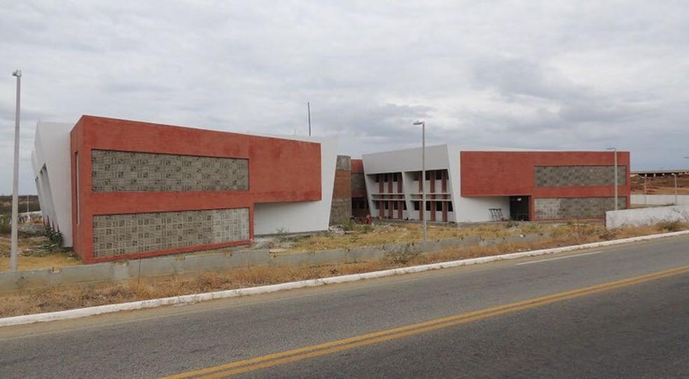 Sede do IFPB de Itaporanga, no Sertão paraibano: instituição está em 21 municípios — Foto: Patrícia Nogueira de Carvalho Pinto/Divulgação
