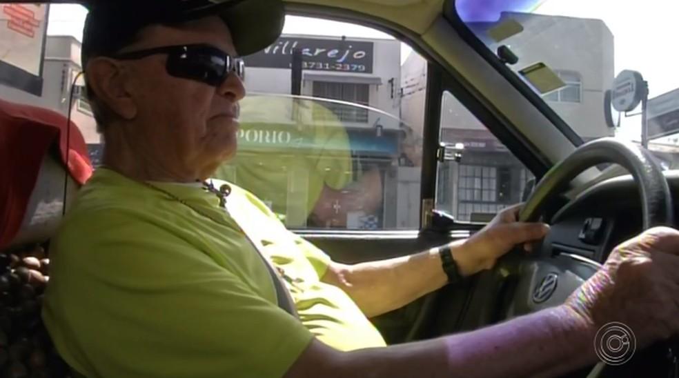 Morador de Avaré tem CNH renovada até 2019 — Foto: Reprodução/TV TEM