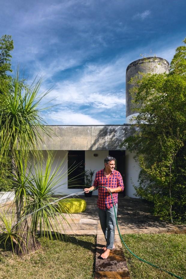 Conheça a casa do paisagista Marcelo Faisal (Foto: Gui Gomes)