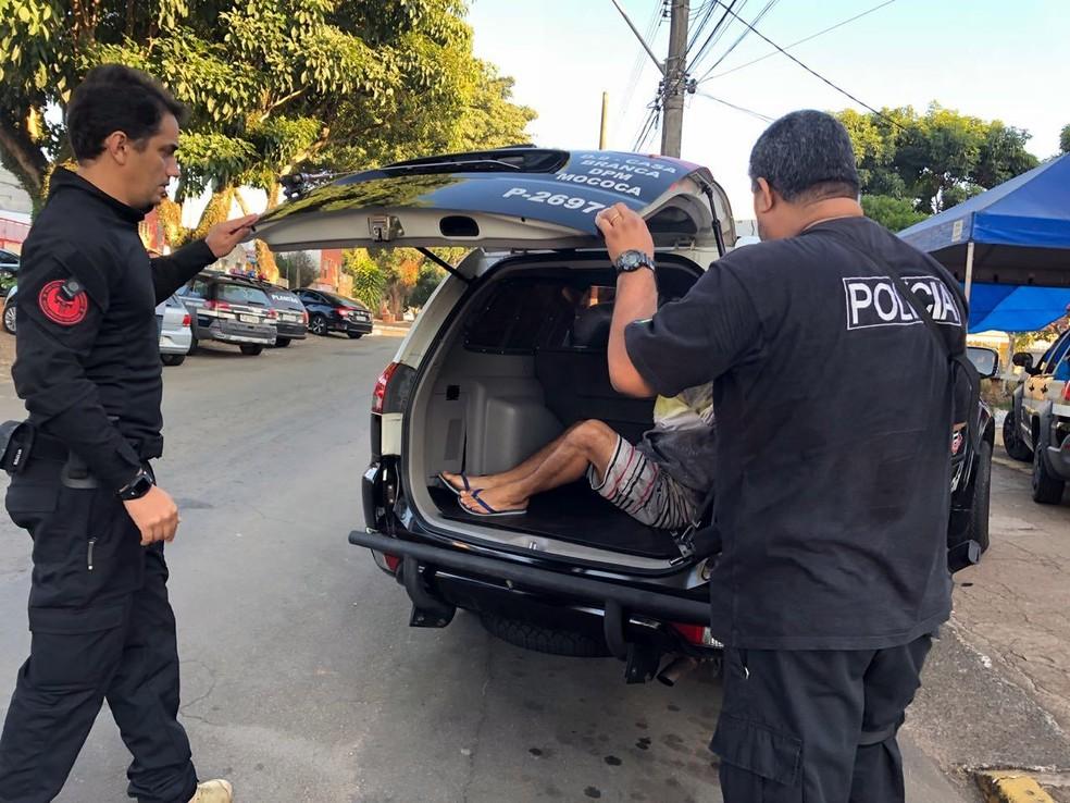 -  Suspeito foi preso em Guaxupé  Foto: Polícia Civil/Divulgação