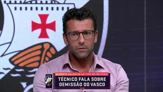 """Em entrevista após demissão do Vasco, Valentim lamenta: """"Fiquei muito triste, mas entendi"""""""