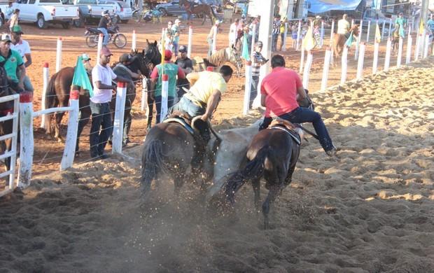 Circuito Paré de Vaquejada - Engenheiro Navarro (Foto: Valdivan Veloso/GloboEsporte.com)