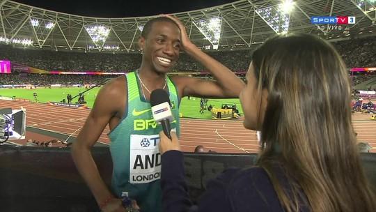 Thiago André é quarto em série forte e se classifica para a final dos 800m