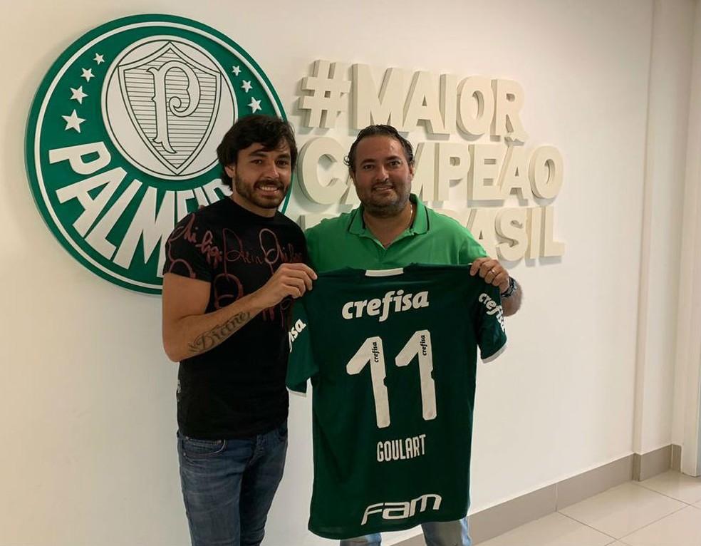 1b2561f87ad85 Palmeiras divulga numeração oficial da temporada; Goulart é 11 e Zé ...