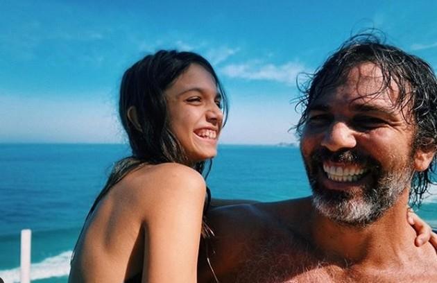 Marcelo Faria comemorou a cura da Covid: 'Depois de 14 dias isolado por ter testado positivo para a Covid, poderei finalmente ficar perto da minha família' (Foto: Reprodução)