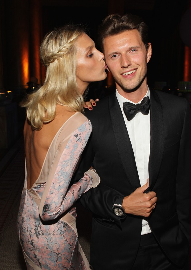 Anja Rubik e Sasha Knezevic (Foto: Getty Images)