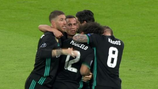 Veja os gols da vitória do Real Madrid sobre o Bayern, em Munique