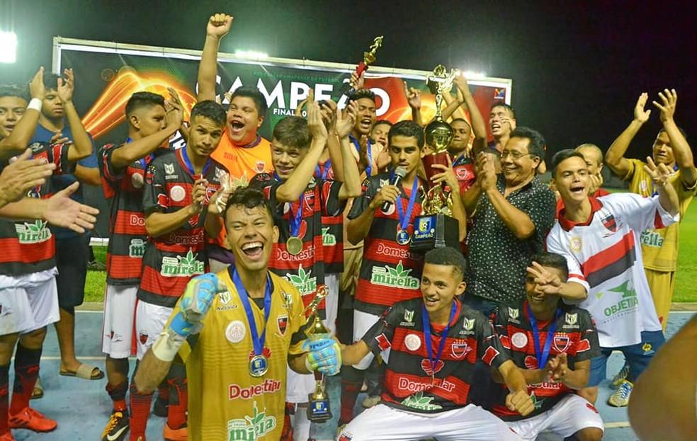 Trem foi campeão do Sub-20; (Foto: Rosivaldo Nascimento/Arquivo Pessoal)
