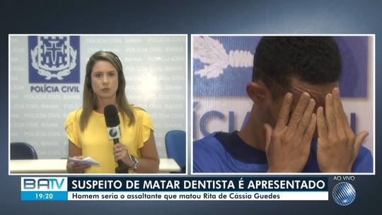 Suspeito de matar dentista durante tentativa de assalto em Salvador se apresenta à polícia