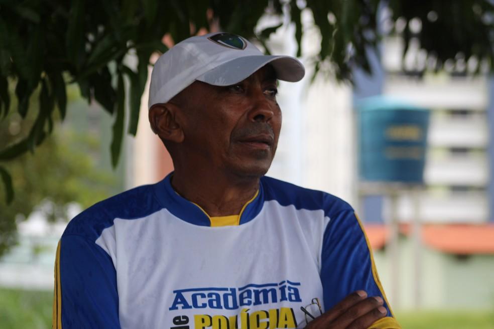 Toinho, técnico do Tiradentes-PI (Foto: Joana D'arc Cardoso)