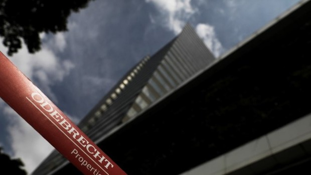 Prédio da Odebrecht (Foto: REUTERS)