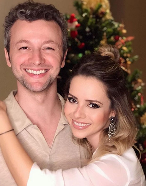 Lucas Lima e Sandy (Foto: Reprodução)