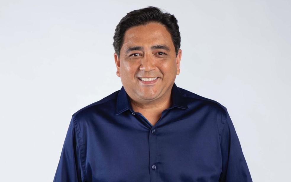 Talles Barreto, candidato a Prefeitura de Goiânia pelo PSDB Goiás — Foto: Divulgação/PSDB