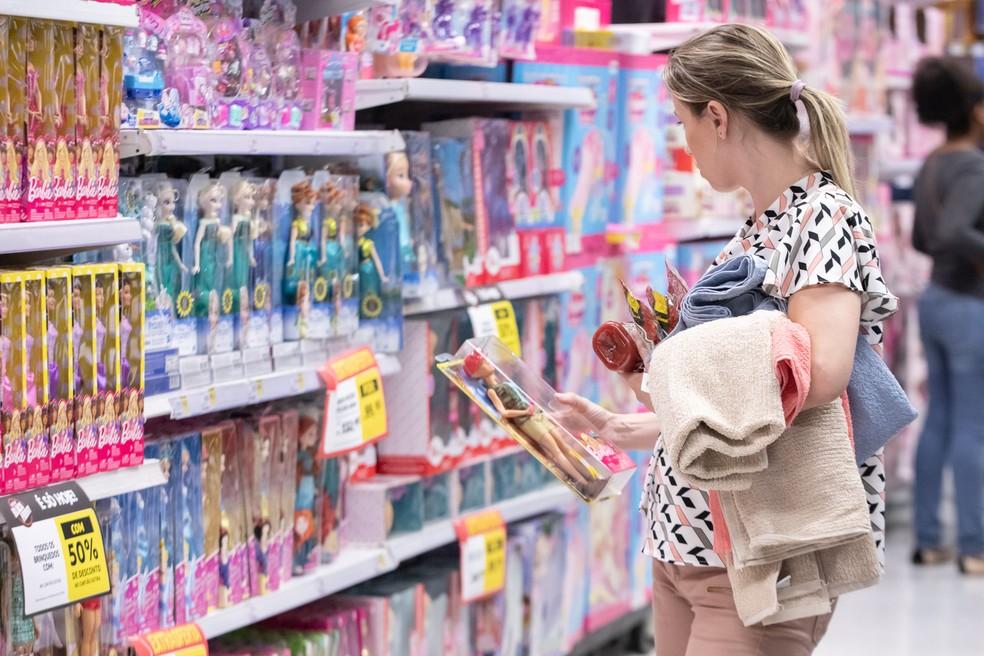 CNC espera alta nas vendas de brinquedos esta ano — Foto: Celso Tavares/G1