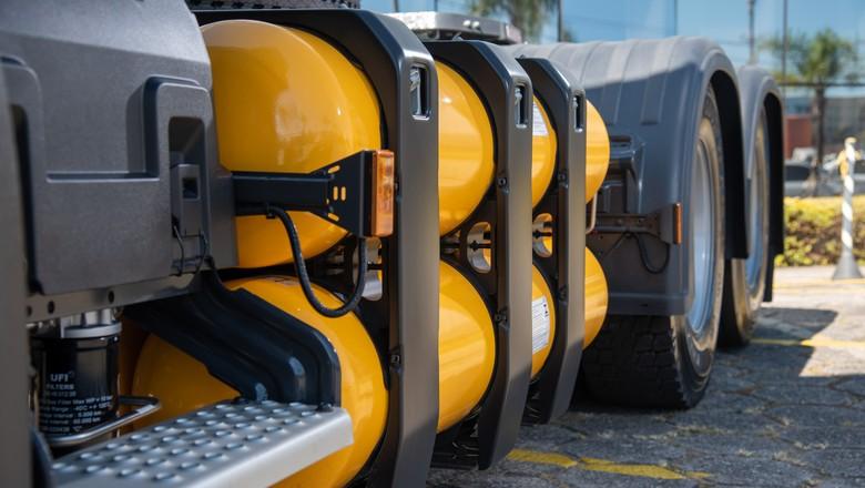scania-caminhao-gas (Foto: Divulgação/Scania)