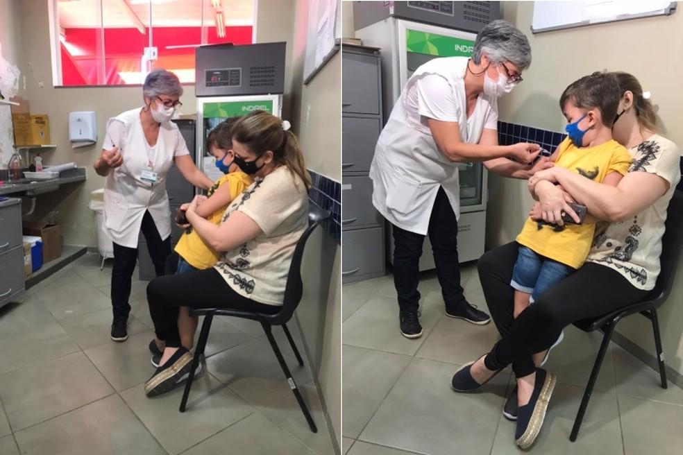 Bauru terá 'Dia D' de multivacinação para crianças e adolescentes neste sábado — Foto: Thais Andrioli / TV TEM