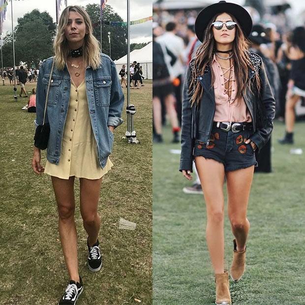 Jeans e o visual roqueiro são queridinhos para este ano (Foto: Pinterst)