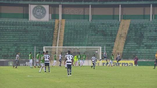 """Gol anulado, """"soberba"""" do Guarani e bola do jogo com Fabinho: Piza analisa derrota"""