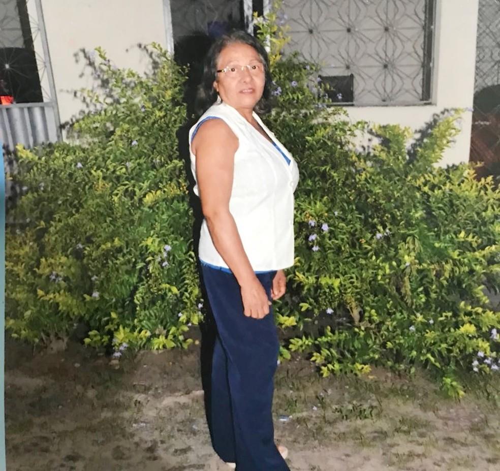 Luiza Maria Costa tinha 66 anos (Foto: Arquivo da Família)
