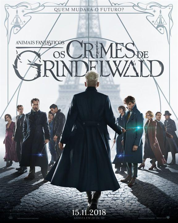 Filme Animais Fantásticos: os crimes de Grindewald estreia no dia 15 de novembro (Foto: Divulgação Cinemark)