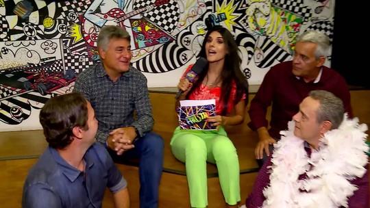 Time do Esporte da Globo avalia se amor de Carnaval sobe a serra