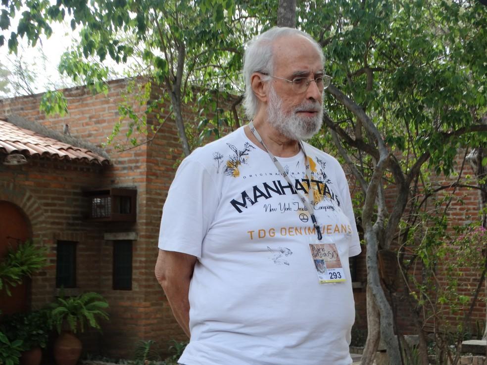 Carlos Reis, diretor da Paixão de Cristo, morreu na noite desta quarta (16), no Recife — Foto: Joalline Nascimento/G1