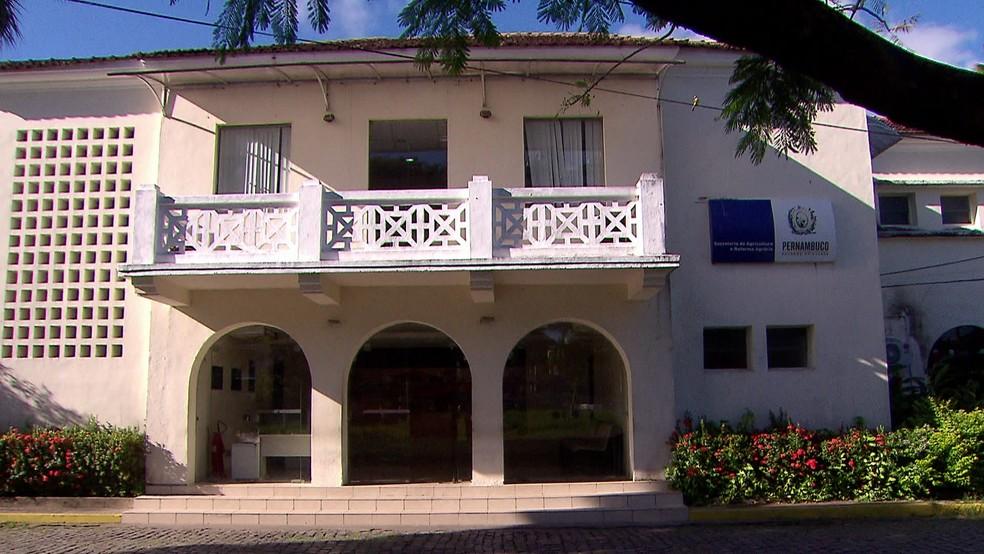 Sede da Adagro fica no Parque de Exposições do Cordeiro, na Zona Oeste do Recife — Foto: Reprodução/TV Globo
