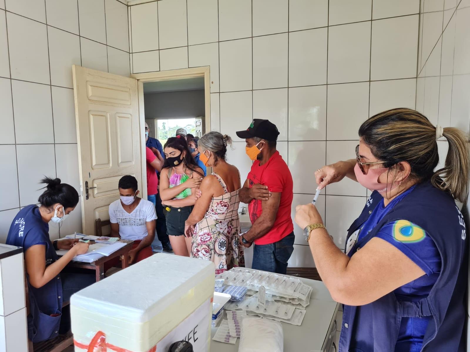 Covid-19: Operação Gota deve vacinar mais de 4 mil moradores de áreas isoladas do Acre