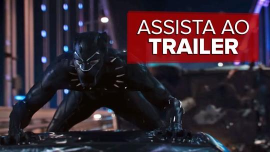 'Pantera Negra': Marvel lança primeiro trailer do filme do herói