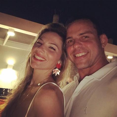 Luiza e o namorado, Pedro (Foto: Reprodução/ Instagram)