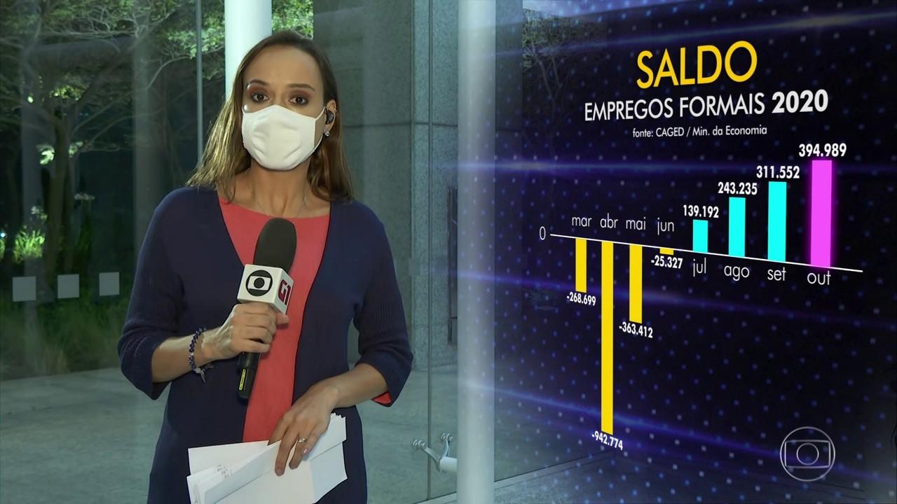 Brasil registra em outubro recorde de 394 mil novos empregos formais
