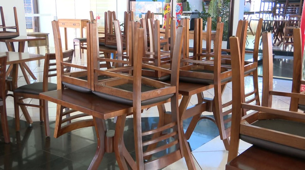 Restaurantes em Franca podem voltar a receber clientes — Foto: Jefferson Severiano Neves/EPTV