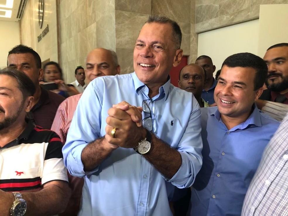 PRTB confirma João Henrique Carneiro como candidato ao governo da Bahia (Foto: Alan Tiago Alves/G1)