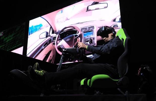 NVidia lança simulador virtual DRIVE Constellation, capaz de simular em computador situações reais de rodagem de um carro autônomo (Foto: Divulgação)
