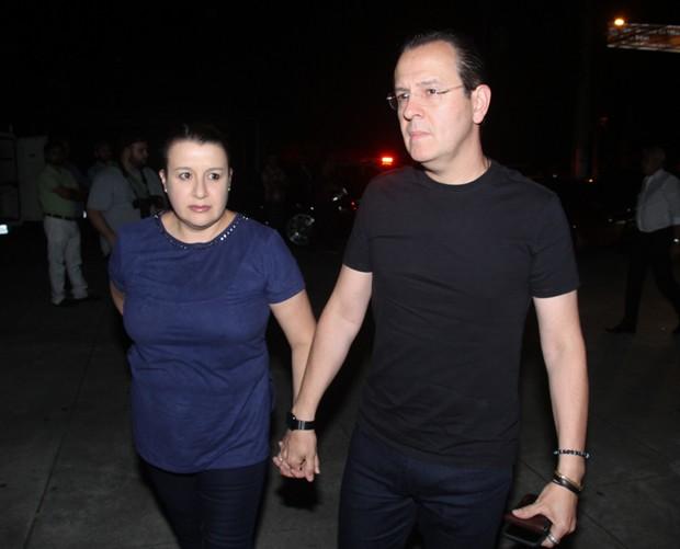 Celso Zucatelli e Ana Cláudia Duarte (Foto: Amauri Nehn/Brazil News)