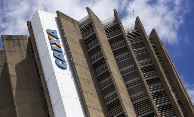 Sede da Caixa Econômica Federal, em Brasília