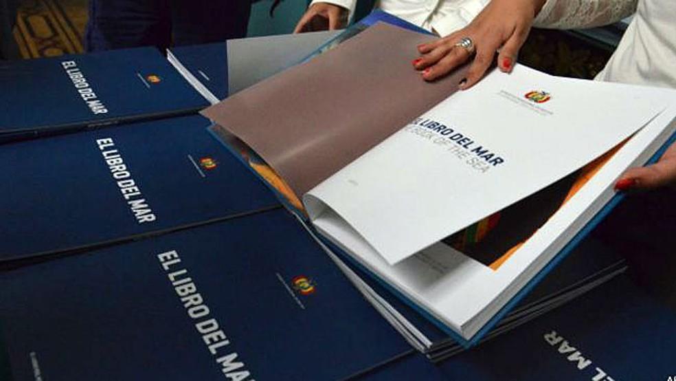 'El Libro del Mar' é leitura obrigatória nas escolas da Bolívia (Foto: ABI)
