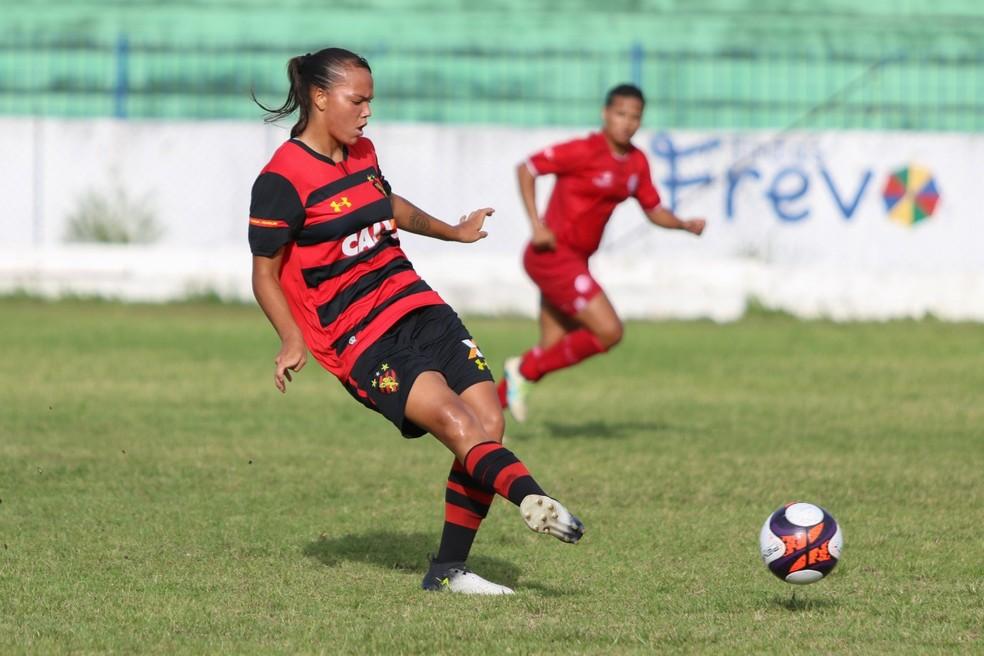 Departamento de futebol feminino do Sport foi fechado em fevereiro  — Foto: Anderson Freire/Sport Club do Recife